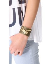 Iam By Ileana Makri - Brown Dove Bracelet - Lyst
