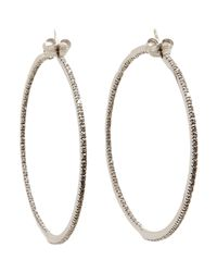 Sidney Garber - White The Perfect Round Hoops  - Lyst