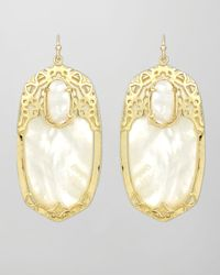 Kendra Scott | Metallic Deva Earrings | Lyst