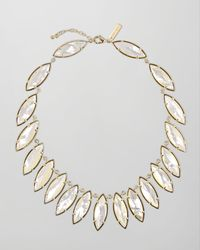 Kendra Scott | White Nalin Motherofpearl Necklace | Lyst