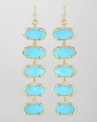 Kendra Scott | Metallic Ives Earrings | Lyst