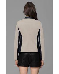 Theory - Black Lanai LC Cotton Blend Jacket - Lyst