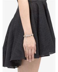 Valentino | Pink Rockstud Leather Bracelet | Lyst