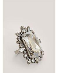 DANNIJO | White Xenia Ring | Lyst