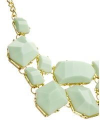 Kenneth Jay Lane - Green Statement Gem Necklace - Lyst