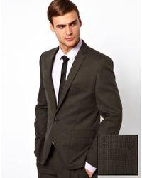 Lambretta   Gray Check Suit Jacket for Men   Lyst