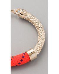 Orly Genger By Jaclyn Mayer - Orange Crosby Cast Rope Bracelet - Lyst