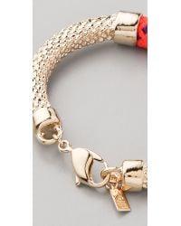 Orly Genger By Jaclyn Mayer Orange Crosby Cast Rope Bracelet