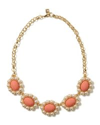 Banana Republic - Orange Bloom Necklace - Lyst
