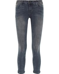 J Brand | Blue Anja Photo Ready Cropped Midrise Jeans | Lyst