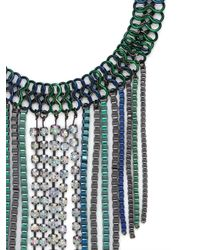 BaubleBar - Blue Oceania Link Fringe Necklace - Lyst