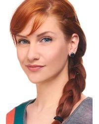 ModCloth | Green Emerald Island Earrings | Lyst