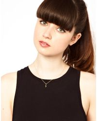 Dogeared - Metallic Strength Power Necklace - Lyst