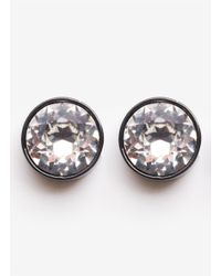 Givenchy | Black Magnetic Stud Earrings | Lyst