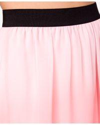 Forever 21 - Pink Ombré Highlow Skirt - Lyst
