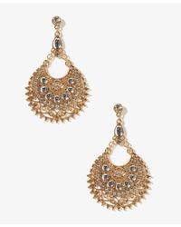 Forever 21 | Metallic Goddess Crescent Earrings | Lyst