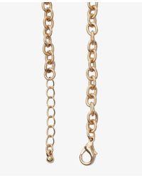 Forever 21 - Metallic Bejeweled Flower Bib Necklace - Lyst