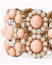 Forever 21 - Metallic Colored Bead Bracelet - Lyst