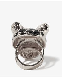 Forever 21 - Metallic Lacquered Jaguar Ring - Lyst