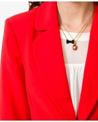 Forever 21 - Red Singlebutton Blazer - Lyst