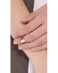 Kristen Elspeth - Metallic Myth Knuckle Ring - Lyst
