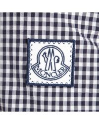 Moncler Gamme Bleu - Blue Gingham Seersucker Sport Jacket for Men - Lyst