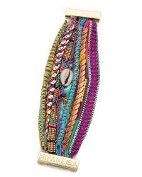 Hipanema - Purple Cannes Bracelet - Lyst