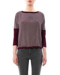 Weekend by Maxmara | Red Tenore Sweater | Lyst