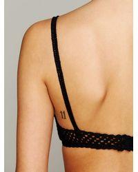 Chan Luu - Black Crochet Bralette - Lyst
