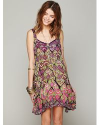 Free People | Brown Perfect Dream Dress | Lyst