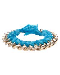 Aurelie Bidermann | Metallic Do Brasil Bracelet | Lyst