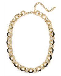 BaubleBar | Metallic Noir Cloisonné Collar | Lyst
