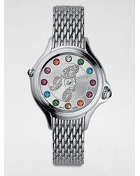 Fendi | Metallic Crazy Carats Diamond Bracelet Watch | Lyst
