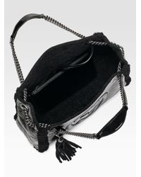 Gucci - Black Soho Crushed Patent Leather Shoulder Bag - Lyst