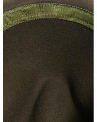 Gucci | Green Felt Fedora Hat | Lyst