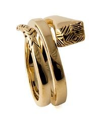 House of Harlow 1960 - Metallic The All For The Want Of A Horseshoe Nail Ring - Lyst