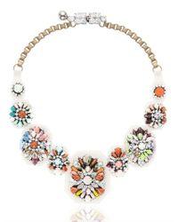 Shourouk | Metallic Fall Necklace | Lyst