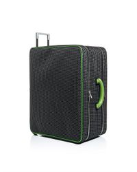 Valextra - Black Kevlarprint Avietta Suitcase for Men - Lyst