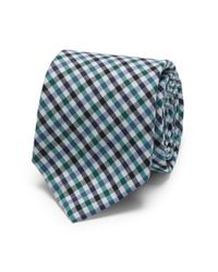 Club Monaco - Blue Ernest Alexander Gingham Tie for Men - Lyst