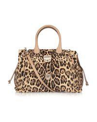 Valentino | Multicolor Leopardprint Calf Hair Shoulder Bag | Lyst