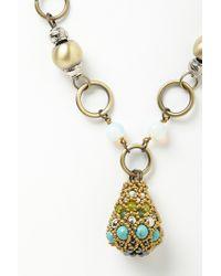 Anthropologie   Blue Brinjal Pendant Necklace   Lyst