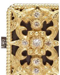 Armenta | Metallic Diamond Tapestry Ring | Lyst
