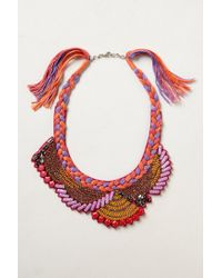 Ranna Gill | Pink Manori Bib Necklace | Lyst