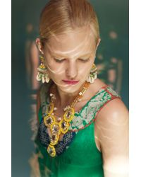 Suzanna Dai - Green Puka Shell Fans - Lyst