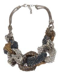 Delphine Charlotte Parmentier - Metallic Ether Necklace - Lyst
