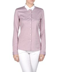 Jil Sander - Pink Long Sleeve Shirts - Lyst