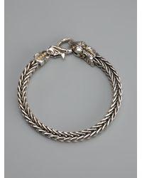 Stephen Webster - Metallic Snake Head Bracelet - Lyst