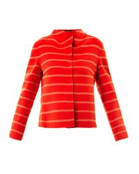 Weekend by Maxmara | Orange Fagiani Wool Blend Jacket | Lyst