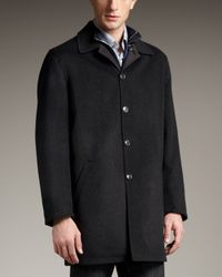 Ermenegildo Zegna | Reversible Raincoat, Black for Men | Lyst