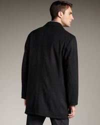 Ermenegildo Zegna - Reversible Raincoat, Black for Men - Lyst